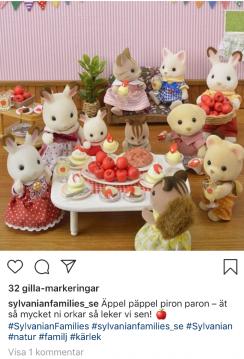 Svensk transkreation för Instagram